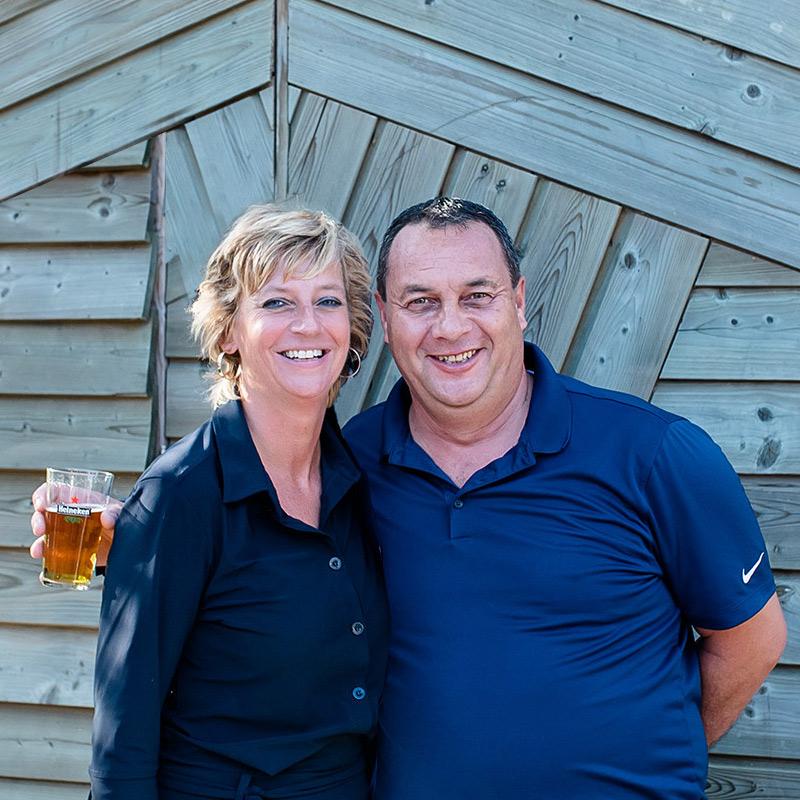 Anette en Jasper van Renesse - Bar 't Ruime Sop